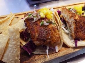Fish Tacos at Revolve Kitchen +Bar