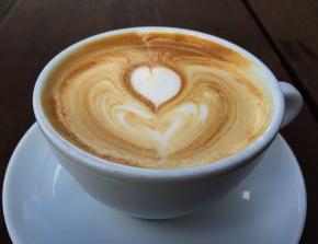Latte at Blacksmith