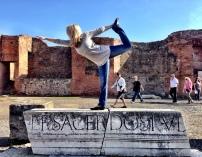 At Pompeii, Italy