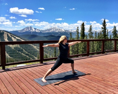 Mountaintop Yoga at Keystone Resort, CO