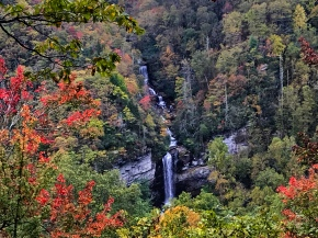 A Fall Hike to Raven CliffFalls