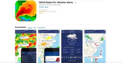 NOAA Radar Pro App 2