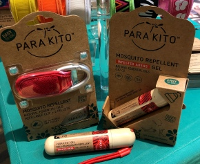 Trying to Stop Swatting Skeeters! Camp Tested Para'kito MosquitoRepellent
